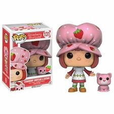 "STRAWBERRY SHORTCAKE - SCENTED STRAWBERRY SHORTCAKE & CUSTARD 3.75"" POP FIGURE"