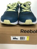 NEW Reebok Sz 8.5 JETRIDE Running Shoes Sneakers Teal White Athletic Women's