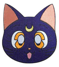 Sailor moon large iron on Luna head patch new sealed