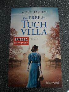 "Anne Jacobs"" Das Erbe  der Tuch Villa ""  Roman  Neuwertig"