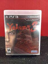 Yakuza 3 (Sony PlayStation 3, 2010) PS3 New/Sealed