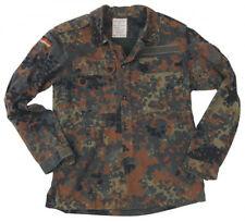 Orig. Bundeswehr Flecktarnjacke, 5 Farben, gebr. BW- Gr.6