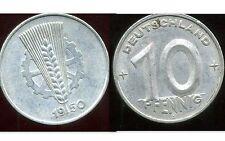 ALLEMAGNE  DDR  10 pfennig 1950  A