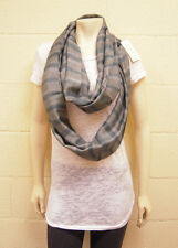 Tolani Infinity  Scarf in Grey Multi NWT