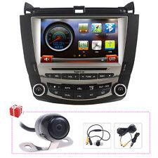 "Koolertron US 8"" Autoradio DVD GPS Navigation Headunit Stereo For Honda Accord"