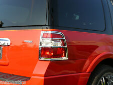 FORD EXPEDITION SUV 2007 - 2011 TFP ABS CHROME TAIL LIGHT COVER INSERT ACCENT