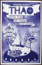 THAO & THE GET DOWN STAY DOWN 2009 POSTER Gig Portland Oregon Concert