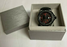 Guess GC-3 Collection Black Red Watch NEW w/ Original Box Free Shipping