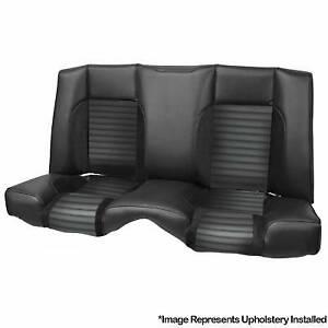 TMI Pro Series Sport Rear Seat Upholstery Kit 1969 Camaro, Black Vinyl