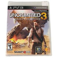 Unchartered 3 Drake's Deception PS3 PlayStation 3 BRAND NEW SEALED
