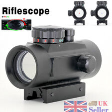 Hunting Reflex 1X 30RD Tactical Holographic 5 MOA Red Dot Sight Airsoft Scope