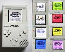 Original Game Boy DMG - New Multi-Colour Backlight LCD White Console