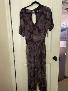NWT torrid tie dye Black Jumpsuit 2x
