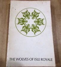 The Wolves of Isle Royale L David Mech 1966 Fauna Series 7  Nat Parks Book >