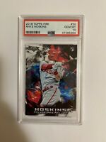 Rhys Hoskins PSA 10 2018 Topps Fire Rookie Card Phillies Gem Mint
