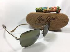 Maui Jim LAVA TUBE Polarized Titanium Sunglasses H786-16M Matte Gold/HCL Bronze