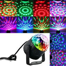UK STOCK LED Magic Disco Ball Stage Light Club RGB Rotat Party DJ Decor + Remote
