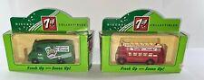 LLEDO DAYS GONE CLASSIC 1959 GREEN MORRIS LD150 VAN '7-UP' REF 71006 & Bus 68006