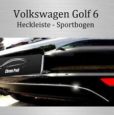 VW Golf 6 /IV - 3M Chrom-Leiste Zierleiste Chromleiste Sportbogen NEU