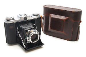 Zeiss Ikon Ikonta 523/16 Folding Camera - 75mm F3.5 Tessar Lens - UK Dealer