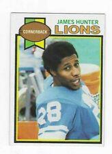 1979 TOPPS JAMES HUNTER #222 DETROIT LIONS