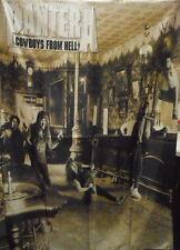 PANTERA Cowboys from Hell FLAG POSTER WALL TAPESTRY BANNER CD Thrash Metal