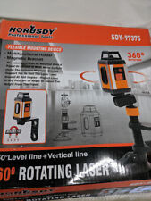 Laser Level, HORUSDY 360-Degree Horizontal Line & Vertical,Rotatable