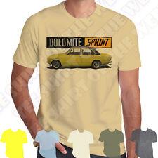 Yellow Triumph Dolomite Sprint mens T-shirt 100% Cotton 7 colours to choose