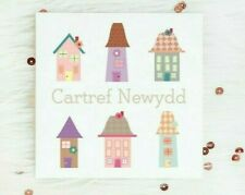Welsh Congratualtions New Home Card Housewarming Moving New House Cartref Newydd