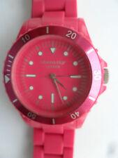 Reloj de pulsera Reloj de identidad Rosa Impactante Londres buzos pulsera estilo AQ26 28ID