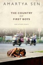 The Country of First Boys: And Other Essays by Sen, Amartya | Hardcover Book | 9