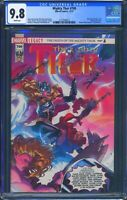 Mighty Thor 700 (Marvel) CGC 9.8 White Pages Jason Aaron story Wraparound cover