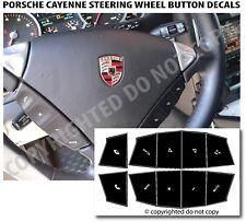 Sticker Decal Repair Replacement Steering Wheel Button For 03-10 Porsche Cayenne
