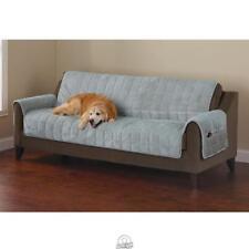 Non-Slip Furniture Protecting Pet Cover Sofa 76W x 85D Blue Washable Surefit