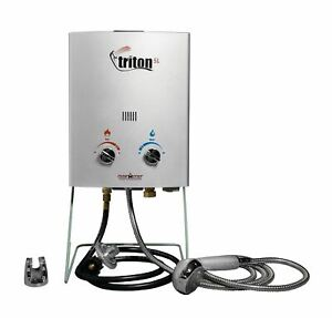 Camp Chef Triton 5 Liter Gas Portable Camp Water Heater with Shower Head | HWD5