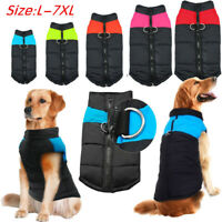 Waterproof Winter Large Dog Clothes Jumper Big Dog Coat Jacket L 2XL 3XL 5XL 7XL
