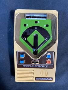 Mattel Electronics Baseball 1978 Vintage Handheld Game - Works