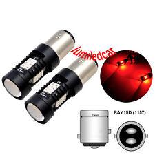 2X BOMBILLA LED CANBUS Py21 BAY15D 80W LED DE ALTA POTENCIA ROJA freno trasero