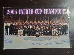 2005 Philadelphia Phantoms AHL Championship Banner Card Rare!
