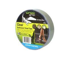 Croc Grip 5mx25mm Clear Bathroom Tread Safely Tape Anti Slip Shower Pool Spa