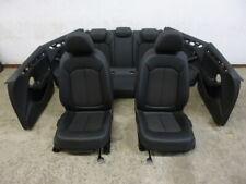 AUDI a3 8v SPORT BACK Limousine PELLE dotazione PELLE SEDILI TESSUTO leather seats