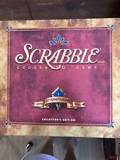 Scrabble Game Collectors 50th Anniversary Edition Turntable Board No Timer
