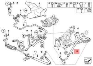 BMW X6 E71 Steering Line 32416788259 6788259 GENUINE NEW