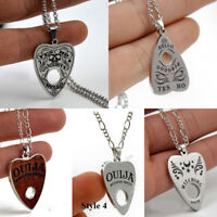 Luxury Stainless Steel Vintage Ouija Board Pendant Necklace Chain Jewelry Gift