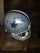 Emmit Smith Signed Full Size Cowboys Helmet