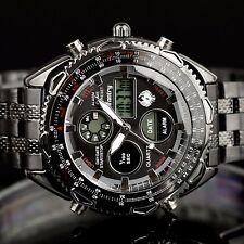 INFANTRY Herren Digitaluhr Analog Armbanduhr Uhr Alarm Datum LED Sport Herrenuhr