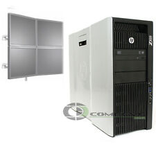 HP Z820 PC NVS 510  E5-2640 2.5 GHz 24GB RAM 2x250GB HDD 4 Monitor Support