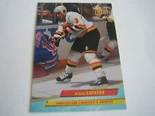 1992/93 FLEER ULTRA HOCKEY DOUG LIDSTER CARD #221***VANCOUVER CANUCKS***