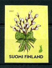 Finland 2017 MNH Easter - Willow Twigs 1v S/A Set Plants Trees Stamps