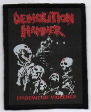 DEMOLITION HAMMER PATCH / SPEED-THRASH-BLACK-DEATH METAL